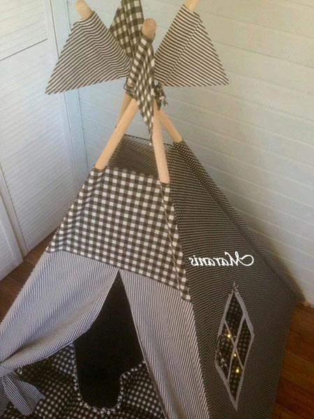 Вигвам для детей «Капли дождя»2
