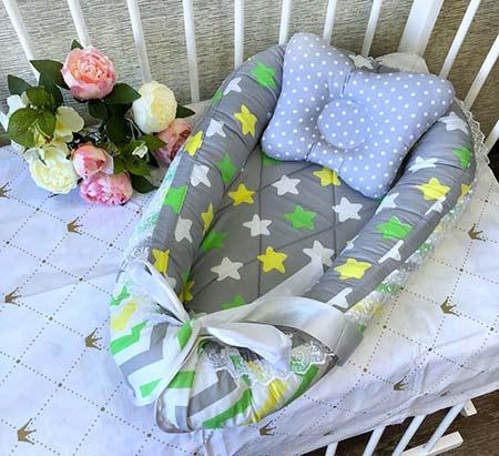Подушка для новорожденных / арт. 4