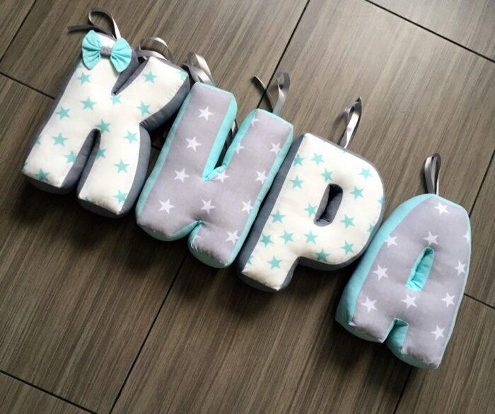 подушки буквы Кира 3 фото