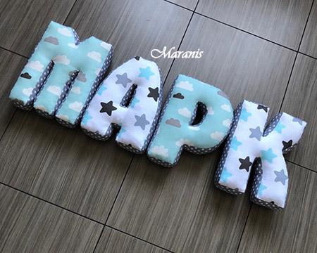 Подушки буквы Марк / арт. 51