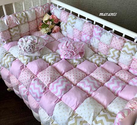 Детское одеяло бонбон фото