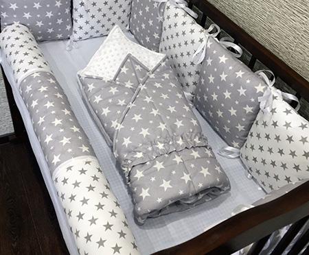 Плед в кроватку новорожденного /арт.1 картинка 2