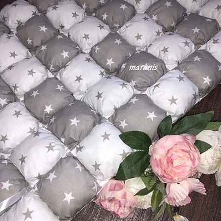 Одеяло в технике бомбон фото