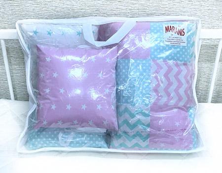 Упаковка детского текстиля от компании Маранис