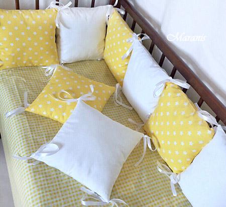 Бампер в кроватку фото