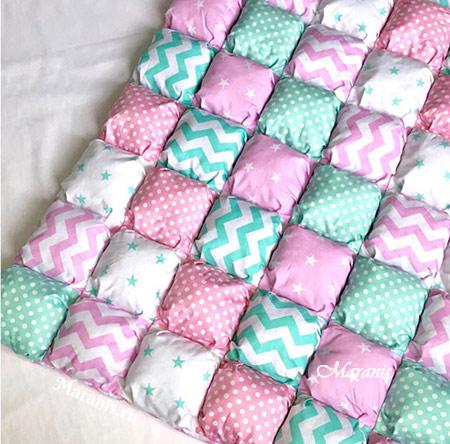 Бортики одеяло бонбон фото