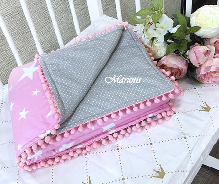 Одеяло для новорожденного 120 x 80 см фото
