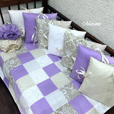 Комплект в кроватку «Сиреневые сны»
