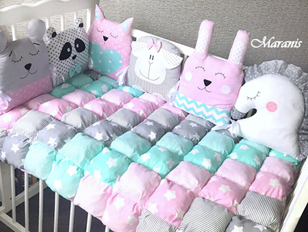 Комплект в детскую кроватку Фантазия фото