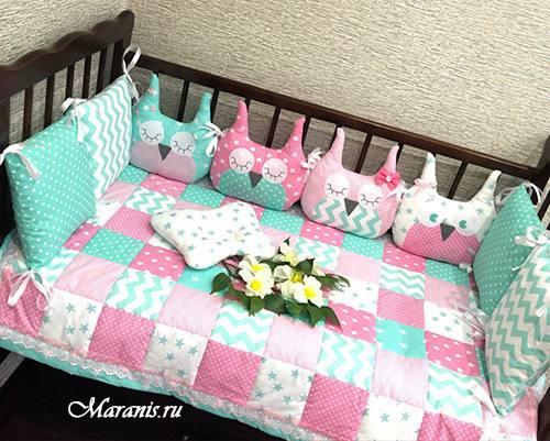 Комплект в кроватку «Ягодный микс»