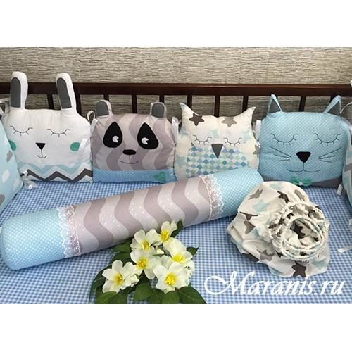 Подушка валик /арт 9