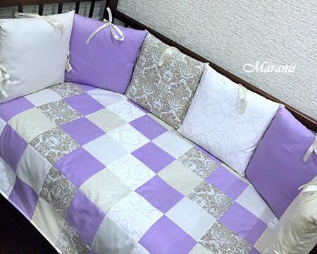 бортики подушки фото