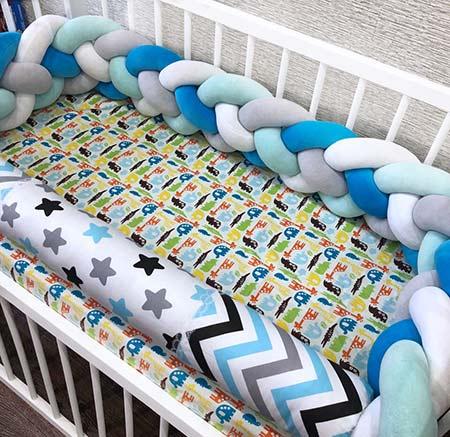 Подушки валики для детской