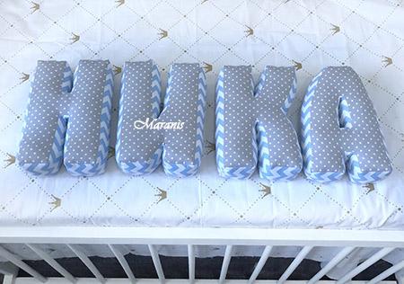 Буквы подушки Ника / арт. 122