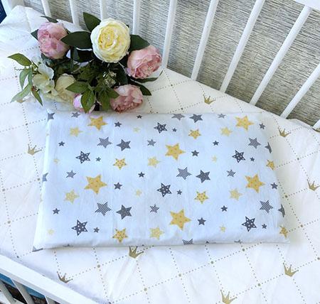 подушка для новорожденных прямоугольная