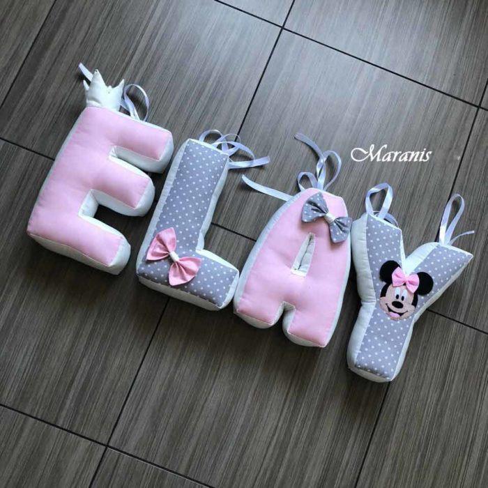 Подушки буквы Elay / арт. 78