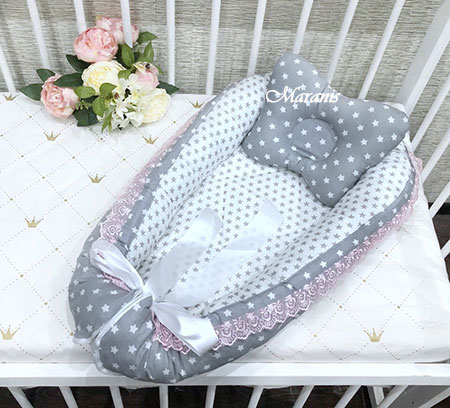 Подушка кокон фото