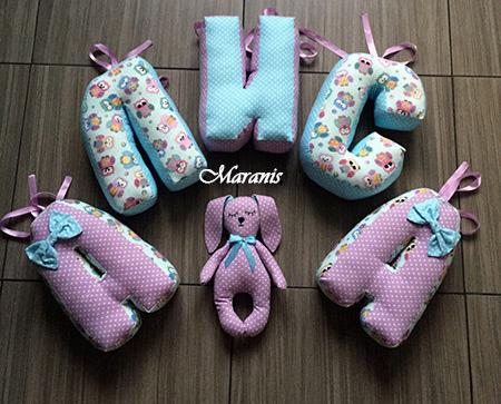 Подушки буквы Алиса фото