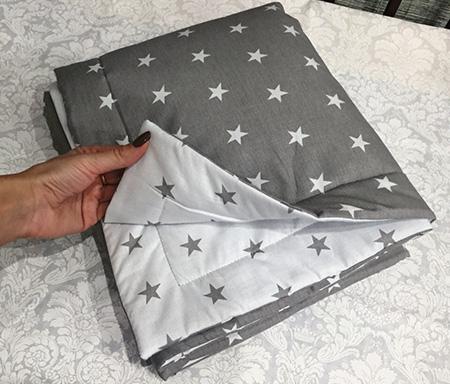 Одеяло для новорожденного 120 x 80 см. арт/02