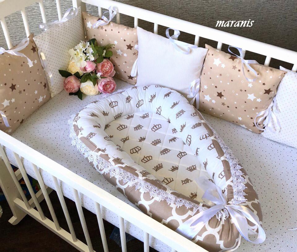 Кокон гнездо для новорожденных.