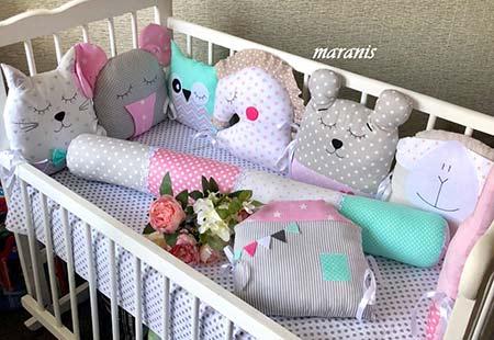 Подушка валик /арт 14